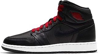 Jordan air 1 retro high black-gym red da bambino - 36