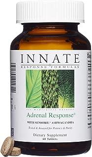 INNATE Response Formulas - Adrenal Response, Supports a Healthy Stress Response, 60 Tablets