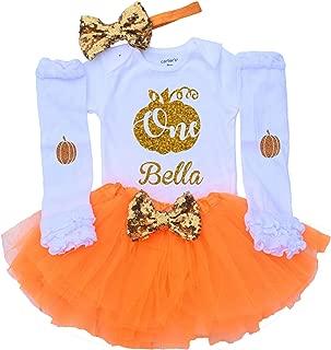 pumpkin first birthday outfit