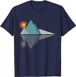 Colorado Flag Mountain T Shirt Gift T-Shirt