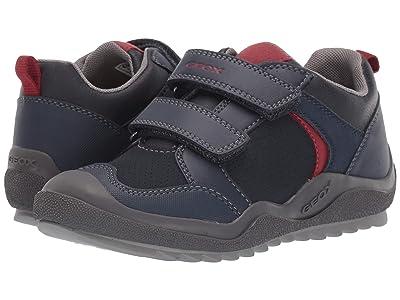 Geox Kids Jr Artach 2 (Little Kid/Big Kid) (Navy/Red) Boys Shoes