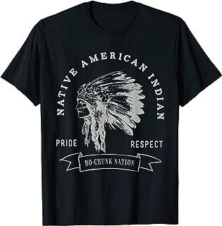 Ho-Chunk Nation Native American Indian Pride Respect Logo T-Shirt