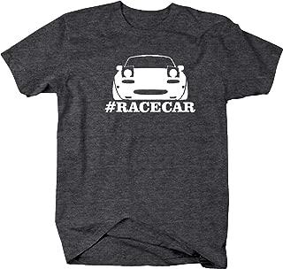 Mazda Miata Racing Lowered #Racecar Mens T Shirt