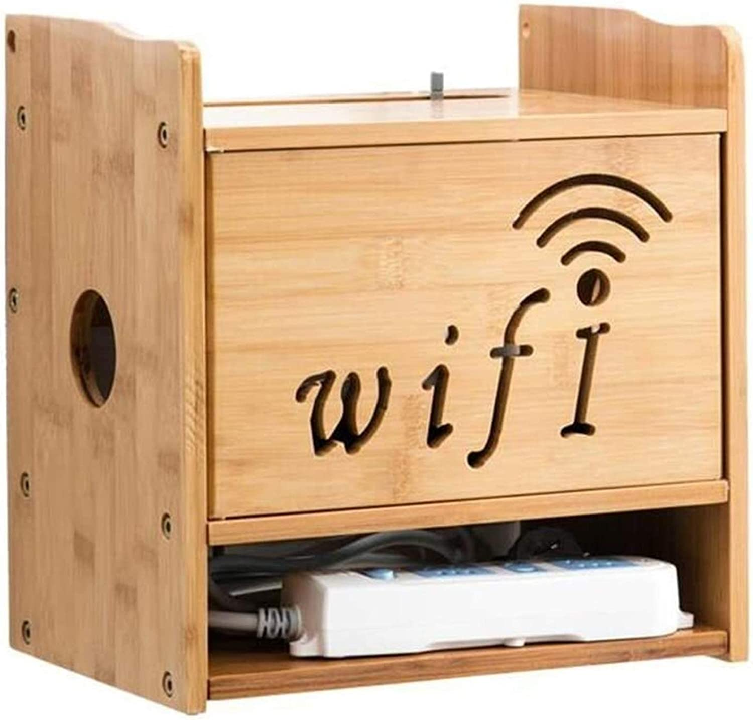 BECCYYLY Router famous Rack Shelves WiFi Bracket , Box Low price Set-
