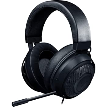 Razer Kraken Gaming Headset: Lightweight Aluminum Frame - Retractable Noise Isolating Microphone - For PC, PS4, PS5, Switch, Xbox One, Xbox Series X & S, Mobile - 3.5 mm Audio Jack - Black