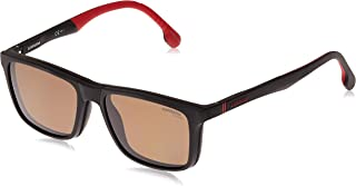نظارات شمسية مربعة للرجال من كاريرا - كاريرا 4009/Cs-00354Sp مقاس 54-17-145 ملم، عدسات لون بني أسود 145mm