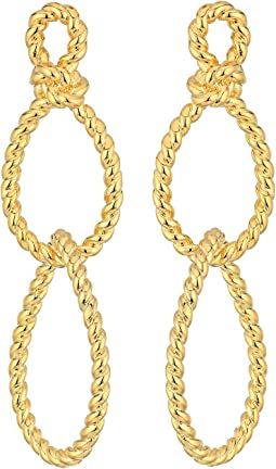 Sailor's Knot Statement Earrings