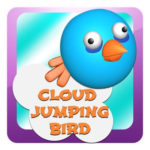 Pássaro Salto Nuvem
