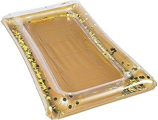 مبرد بوفيه بارتي بارتي بوفيه من فورام نوفيليتيز، 12 متر × 71 سم، ذهبي مع قصاصات ورقية