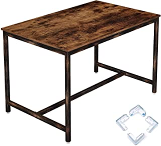 Rolanstar Rustic Dining Table for 4 People, Kitchen Table...