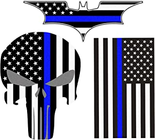 police motorcycle decals