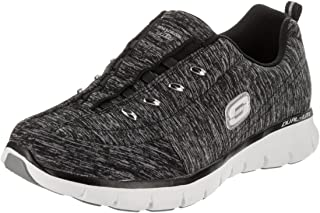 Skechers Synergy Positive Outcome Womens Slip on Walking Sneakers