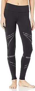 Alo Yoga Women's Airbrush Legging, Black Chakra, XXS