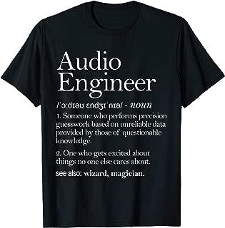 Audio Audio Definition Apparel, Audio Engineering T-Shirt