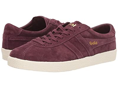 Gola Trainer Suede (Windsor Wine/Off-White) Women