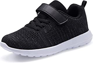 Sponsored Ad - YNIQUE Toddler/Little Kid Girls Boys Shoes Breathable Walking/Running Sports Sneakers