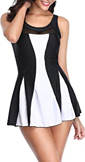 Swimsuit for Women Tommy Control Swimdress Plus Size Tankini Set with Shorts Swimwear