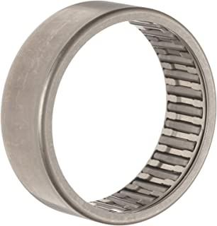 INA HK2512 Needle Roller Bearing, Caged Drawn Cup, Outer Ring and Roller, Steel Cage, Open End, Metric, 25mm ID, 32mm OD, 12mm Width, 10000rpm Maximum Rotational Speed