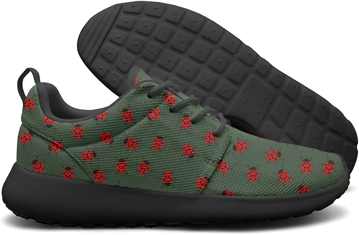 Ladybug Birthday Party Supplies Womens Camping Sports Running shoes Unique colorful
