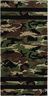 Slowtide - Camouflage Beach Towel - Regime Beach Towel | 100% Cotton Velour - Hanging Loop - 60 x 30 Inches
