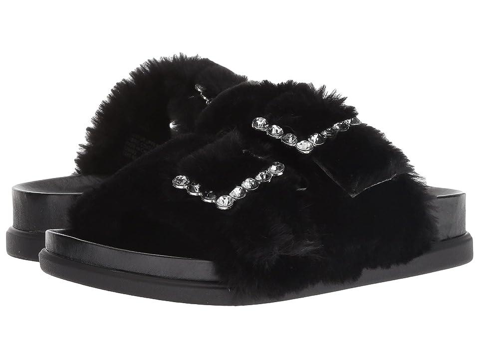 Steve Madden Kids Jfancyf (Little Kid/Big Kid) (Black) Girls Shoes