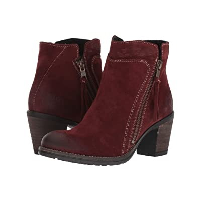 Taos Footwear Dillie (Wine Suede) Women