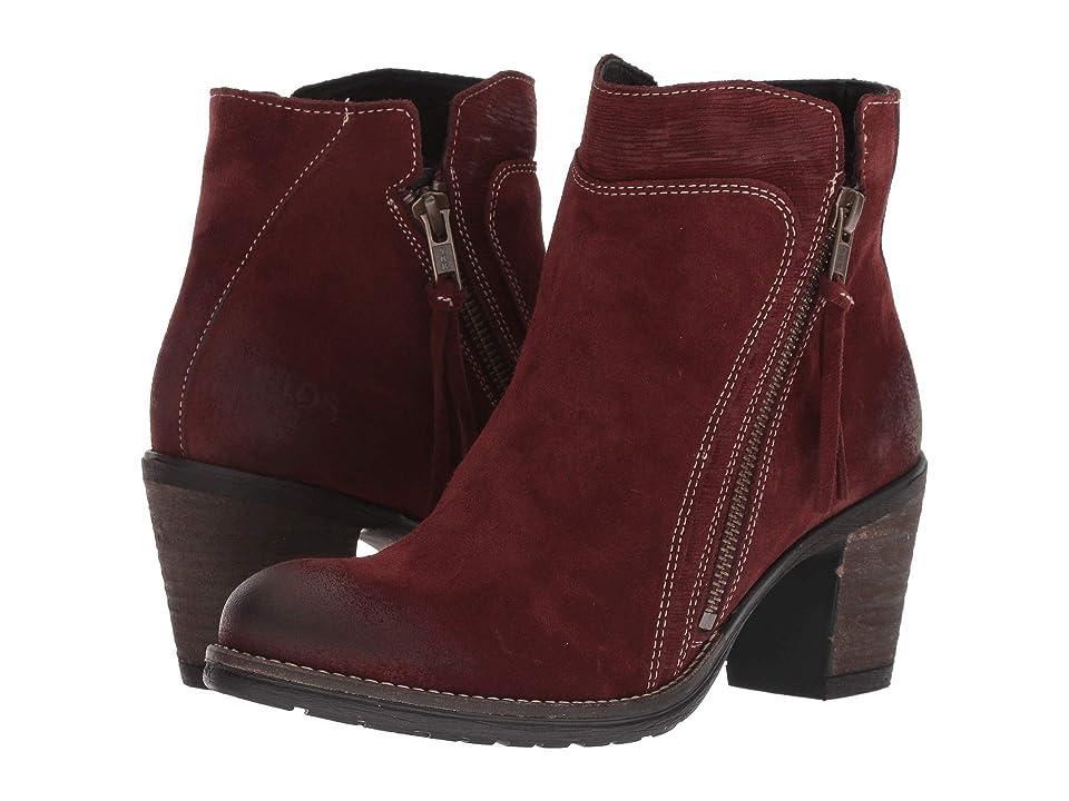 Taos Footwear Dillie (Wine Suede) Women