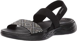 Women's On-The-go 600-Glitzy Flat Sandal