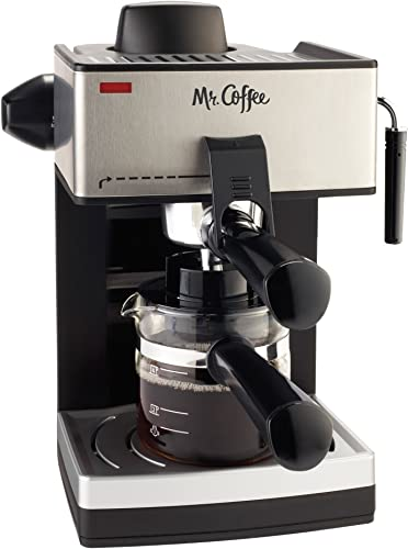 wholesale Mr. Coffee 4-Cup Steam Espresso System discount with outlet sale Milk Frother outlet sale