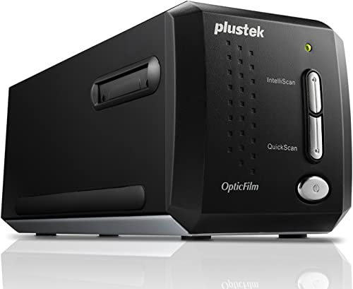 Plustek OpticFilm 8200I AI Pellicule/Diapositives 7200 x 7200DPI Noir - scanners (36,8 x 25,4 mm, 7200 x 7200 DPI, 48...