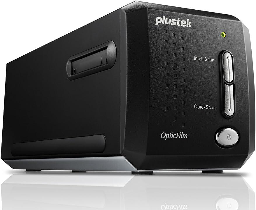 Scanner pellicola film Plustek optic film of8200i ai scanner, nero/antracite 8200iAi