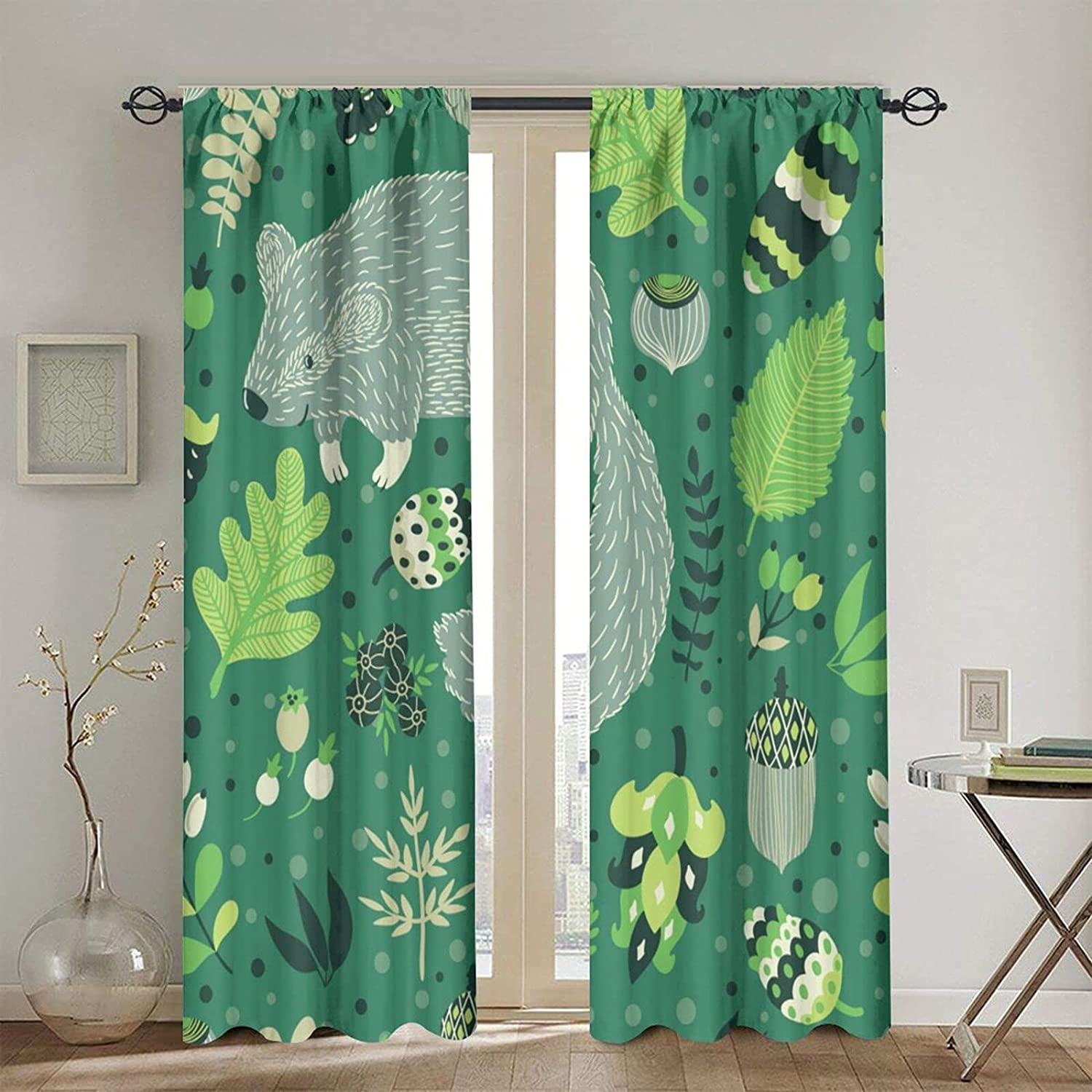 Rod Pocket Blackout Fixed price for sale Curtains Thermal Curtain Ve Window Insulated outlet