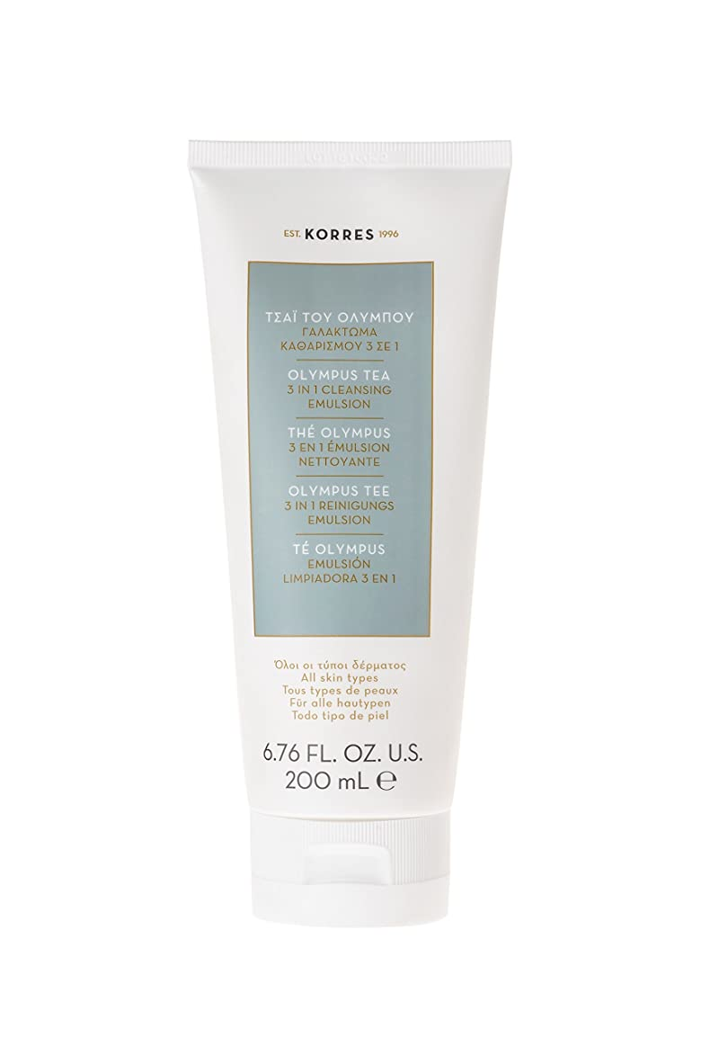 ジェスチャーヘロイン干し草コレス Olympus Tea 3 In 1 Cleansing Emulsion - All Skin Types 200ml/6.76oz並行輸入品