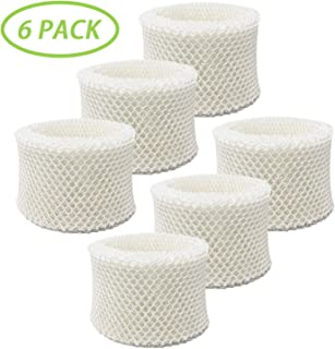 IOYIJOI Humidifier Filters Replacement for Honeywell Filter C, HC-888, HC-888N Cool Moisture Humidifiers (6 Pack)