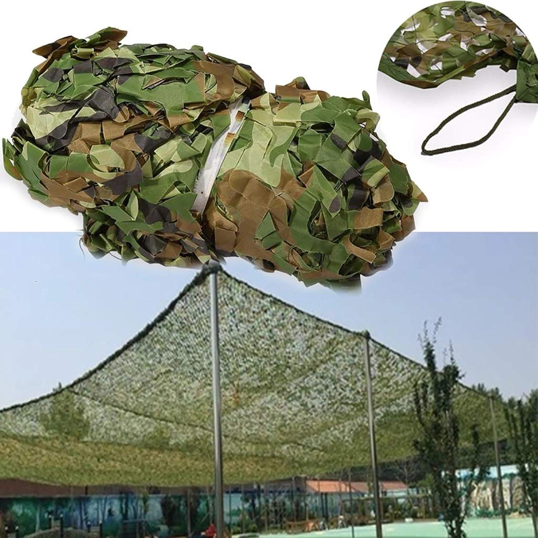 FKDENET Tarnnetz Woodland, Tarnnetz Mesh für Camping Militr Dekoration Schattierung 2x3m   3x3m   3x4m   4x5m   4x6m   5x6m (Größe   8x8m)