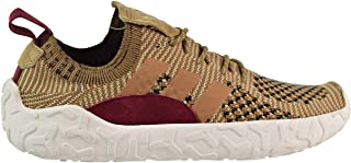 adidas F/22 Primeknit Men's Shoes Brown/Raw Desert/Collegiate Burgundy b41736