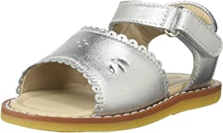 [Elephantito] baby girls ' classic Sandal W/Scallop (Inf/Tod)