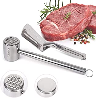 Sunfauo Martillo de Carne Ablandador de Carne Martillo de Carne mazo de Cocina Filete mazo de Cocina Robusto Martillo de Carne Carne Pounder Mazo de Cocina
