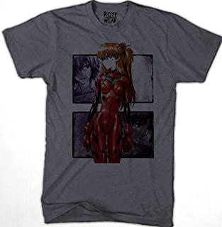Evangelion Asuka Langley PLAYERA HOMBRE J Rott Wear