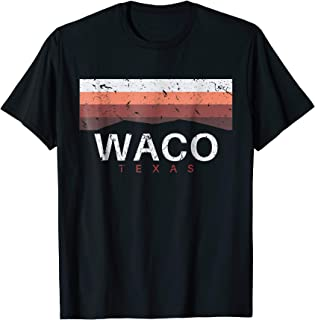 Waco Texas T Shirt Vintage TX Souvenirs