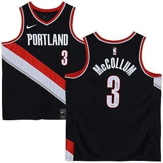 C.J. McCollum Portland Trail Blazers Autographed Nike Black Swingman Jersey with