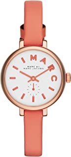 Marc Jacobs Casual Watch For Women Analog Leather - MBM1355