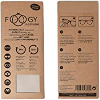 FOOGY Antibeschlagtuch Brille Microfaser Brillenputztuch Antibeschlag   Optikerqualität   Nano Reinigungstuch   100%...