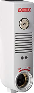 Detex EAX-300 Gray EAX-300 Exit Alarm Battery Powered Door Propped Alarm