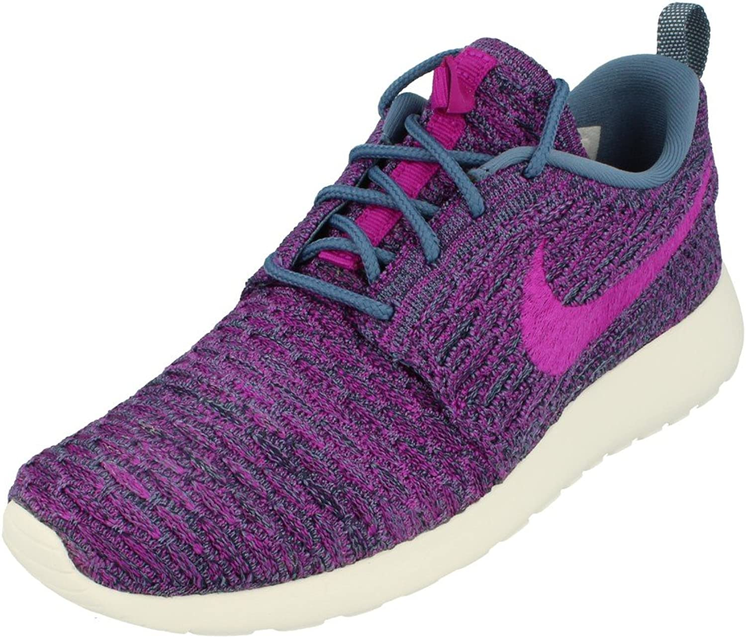 Nike Women's Roshe One Flyknit Running shoes bluee