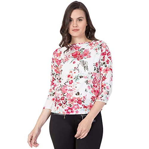 46e4f7cd542 Floral Print Tops: Buy Floral Print Tops Online at Best Prices in ...