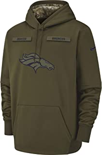 Nike Men's Denver Broncos Therma STS Pullover Hoodie