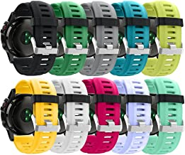 ZSZCXD Band for Garmin Fenix 3 / Fenix 3 HR/Fenix 5X, Soft Silicone Wristband Replacement Watch Band for Garmin Fenix 3 / Fenix 3 HR/Fenix 5X Smart Watch