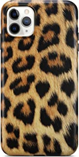 Coolwee iPhone 11 Pro Case,iPhone 11 Pro Leopard Case Slim Matte Leopard Pattern Design for Women Girls Men Rubber Gel Bumper Soft Flexible TPU Case Cover for Apple iPhone 11 Pro Gold