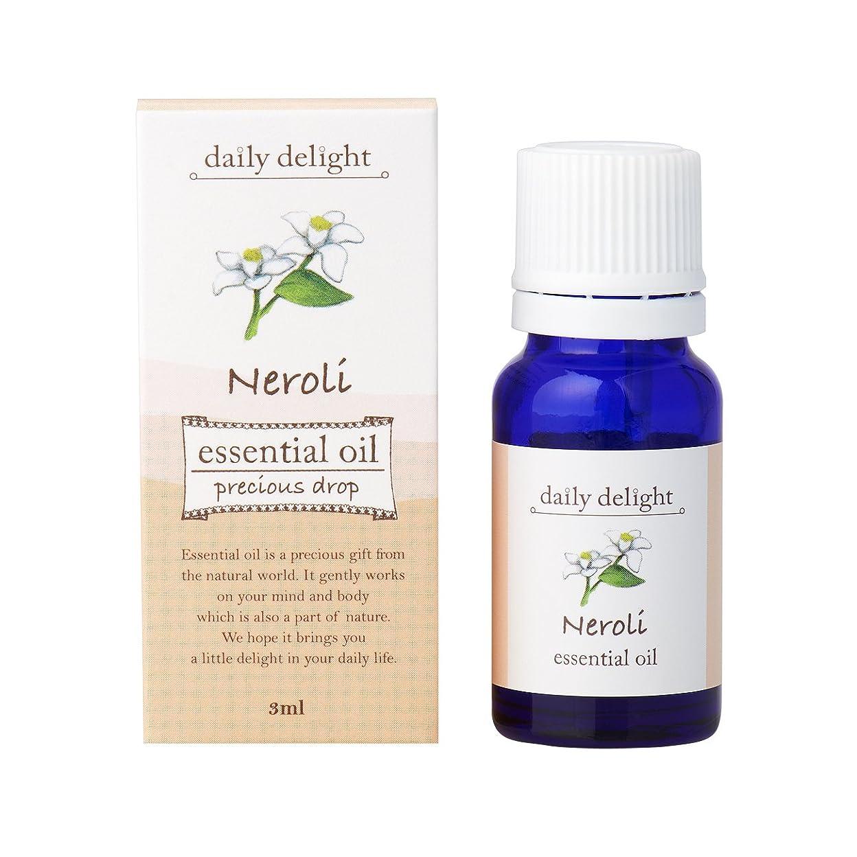 サバントどのくらいの頻度で同様にデイリーディライト エッセンシャルオイル  ネロリ 3ml(天然100% 精油 アロマ フローラル系 ややグリーンがかった爽やかな香り)